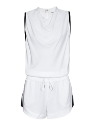 Helmut Lang Open Back Crepe Playsuit