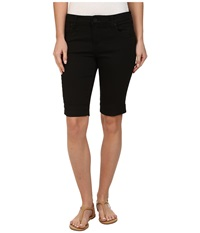 Kut From The Kloth Natalie Twill Bermuda Black Women's Shorts