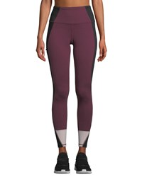 The North Face Perfect Core High Rise Performance Tights Purple