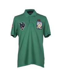 Napapijri Topwear Polo Shirts Men Green