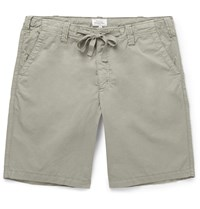 Hartford Cotton Shorts Neutrals