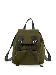 French Connection Patrice Small Backpack Amazon Green