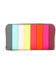 Sophie Hulme Rainbow Continental Wallet