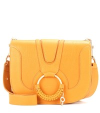 See By Chloe Hana Medium Leather Shoulder Bag Yellow