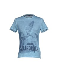 Blauer Topwear T Shirts Men Sky Blue