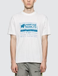 Martine Rose Wobbly S S T Shirt