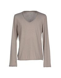 Tanomu Ask Me Topwear T Shirts Men Beige