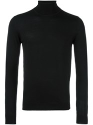 Daniele Alessandrini Roll Neck Jumper Black