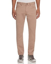 Boss Delaware Soft Twill Slim Fit Jeans In Khaki 100 Bloomingdale's Exclusive