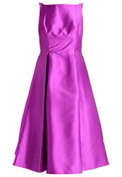 Adrianna Papell Cocktail Dress Party Dress Dahlia Purple