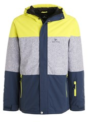 Rip Curl Enigma Snowboard Jacket Sulphur Green Yellow