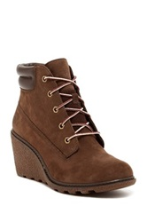 Timberland Amston Wedge Boot Brown