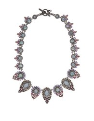 Marchesa Toggle Collar Necklace Multi
