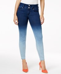 Thalia Sodi Ombre Skinny Jeans Only At Macy's Light Wash