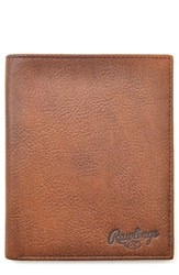 Rawlings Sports Accessories Men's Triple Play Leather Executive Wallet
