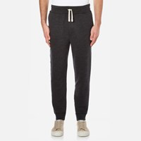 Polo Ralph Lauren Men's Rib Cuffed Jog Pants Black Marl Heather