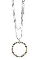 Lagos Women's Enso Long Pendant Necklace