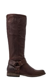 Frye Phillip Harness Tall Boot Brown