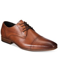 Bar Iii Men's Joe Cap Toe Lace Up Oxfords Only At Macy's Men's Shoes Brown