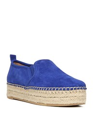 Sam Edelman Carrin Leather Platforms Blue