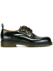 Ami Alexandre Mattiussi Eyelet Detail Derby Shoes Brown
