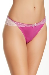 Jezebel Intrigue Thong Pink