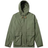 Engineered Garments Atlantic Ripstop Parka Green