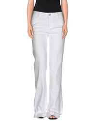 Red Valentino Redvalentino Denim Denim Trousers Women White