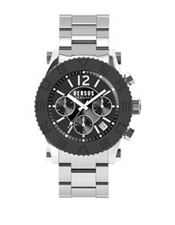 Versus By Versace Madison Stainless Steel Chronograph Soh020015 Silver