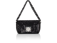 Sonia Rykiel Le Copain Shoulder Bag Black