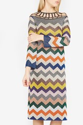 Missoni Women S Zigzag Striped Mini Dress Boutique1 Multi