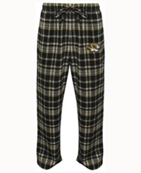 Concepts Sport Men's Missouri Tigers Bleacher Flannel Sleep Pants Black