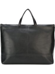 Isaac Reina Square Holdall Black