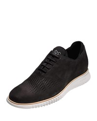 Cole Haan 2.Zerogrand Laser Wing Tip Oxford Black