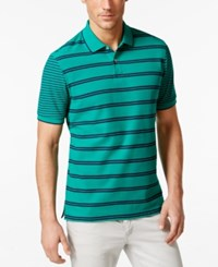 Club Room Short Sleeve Stripe Polo Only At Macy's Pretty Pine