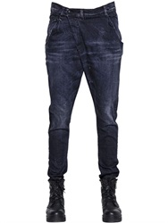 R 13 R13 X Over Baggy Stretch Denim Jeans