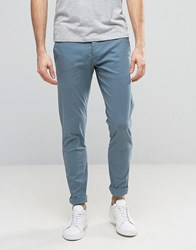 Selected Homme Skinny Fit Chino Blue Mirage