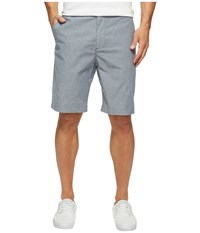Dockers Perfect Short Classic Flat Front Larke B Good Faded Navy Pattern B Men's Shorts Gray