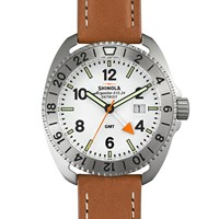 Shinola Rambler 44Mm Watch Brown