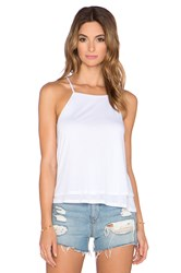 Lanston Fine Gauge Double Layer Tank White