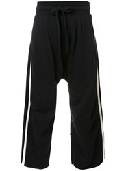 Osklen Side Stripe Track Pants Black