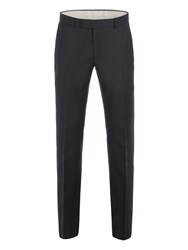 Racing Green Men's Bramley Charcoal Pick And Pick Trouser Charcoal