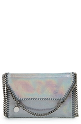 Stella Mccartney 'Mini Falabella Hologram' Crossbody Bag Ruthenium