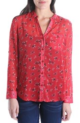 Kut From The Kloth Jasmine Top Red