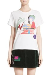Marc Jacobs Women's Frog Graphic Print Tee