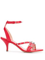 Red Valentino V Romantic Punk Sandals Red