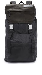 Marni Colorblock Backpack Black Military