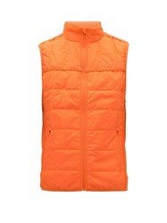 Calvin Klein Performance Quilted Technical Gilet Orange