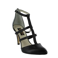 Marta Jonsson Women S Strappy Court Shoes Black