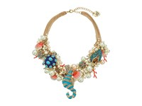 Betsey Johnson Betsey The Sea Pearl Bauble Necklace Multi Necklace